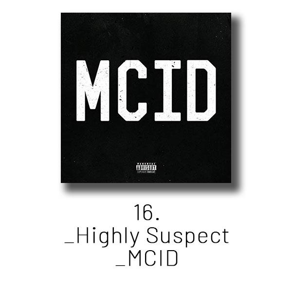 16 - Highly Suspect - MCID